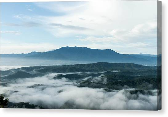 Smoky Mountain Morning   Canvas Print by Glenn Lawrence