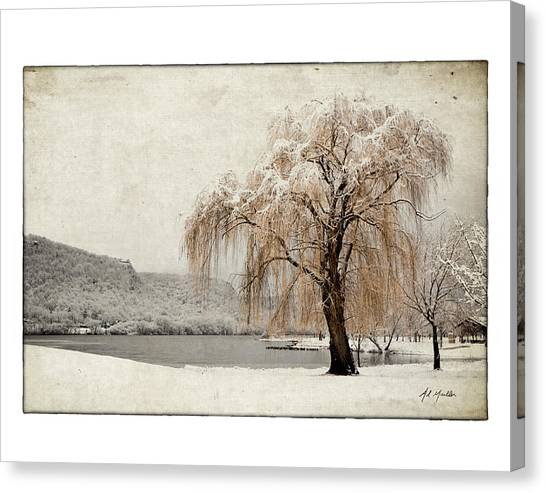Snow Tree 1 Canvas Print