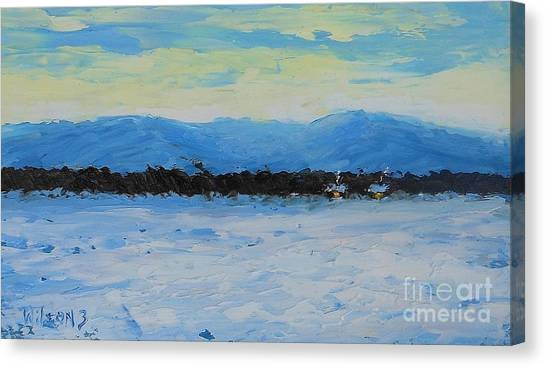 Snowed In Canvas Print by Fred Wilson