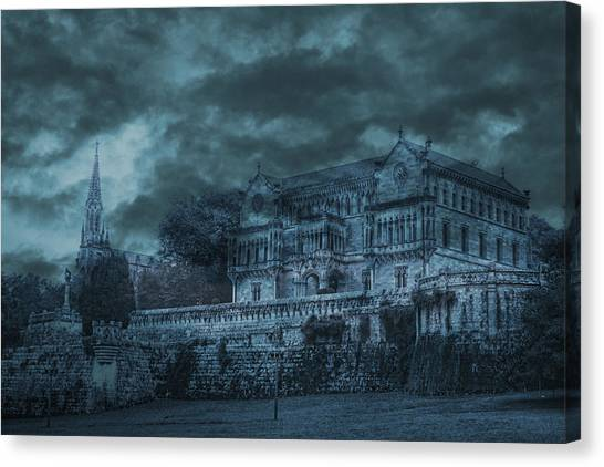Sobrellano Palace Canvas Print