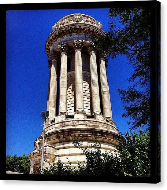 Soldiers Canvas Print - Soldiers' And Sailors' Monument by Arnab Mukherjee
