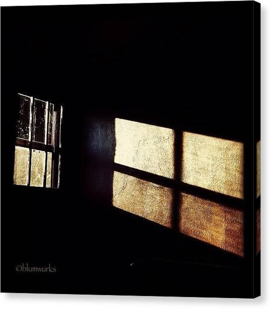 Black Canvas Print - Solemn by Matthew Blum