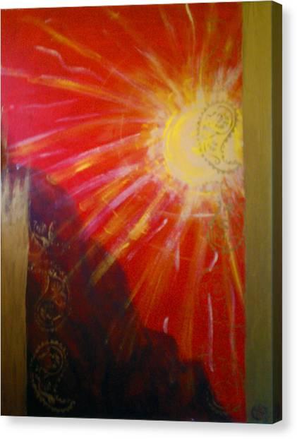 Solis A Collabaration Canvas Print