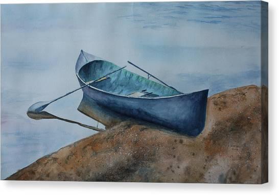 Canvas Print - Solitude by Patsy Sharpe