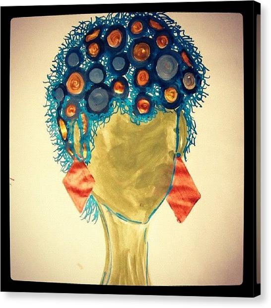Imaginative Canvas Print - Some Art Work I Did by Erica Graves