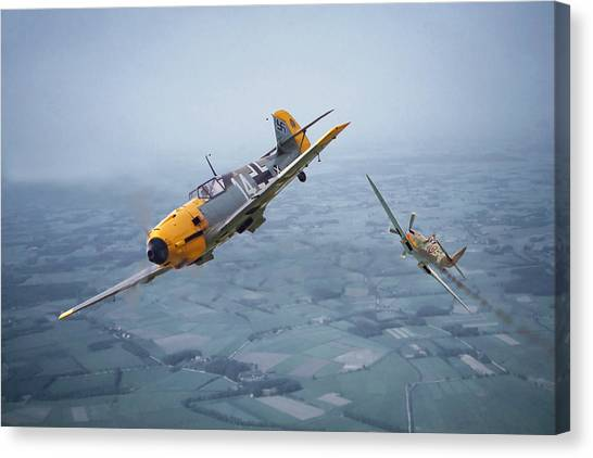 Luftwaffe Canvas Print - Some You Win........... by Pat Speirs