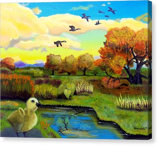 Someday Canvas Print by Jennie Robin