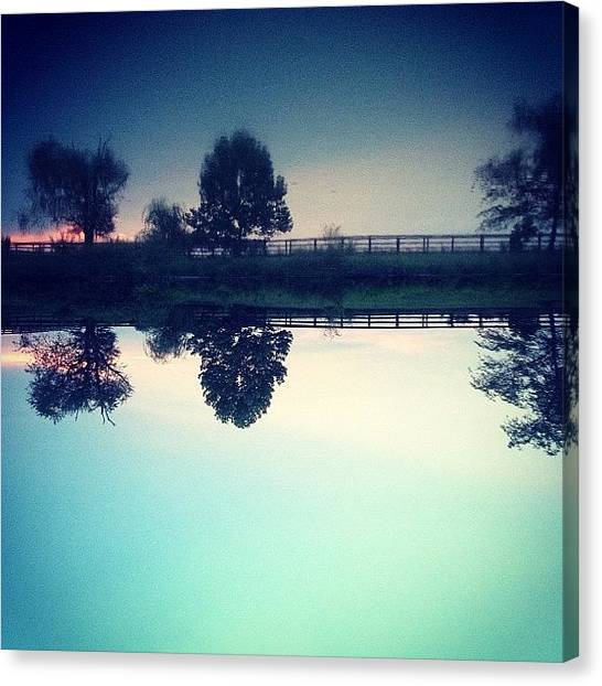 Kentucky Canvas Print - [something Witty] | #farm #lake by Hunter Graham