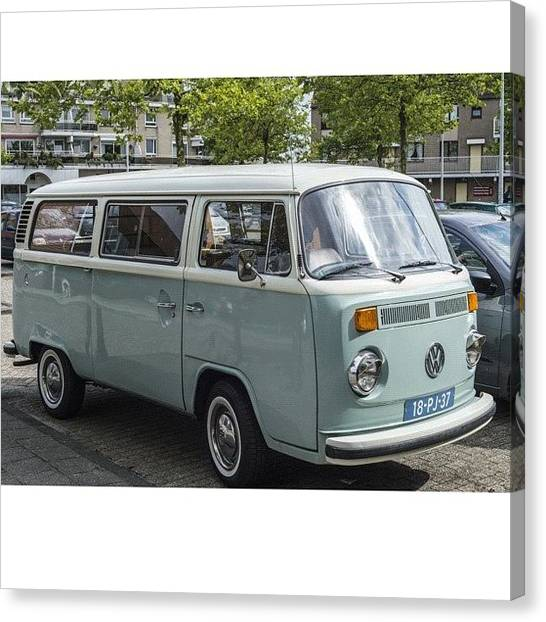 Vw Bus Canvas Print - Sometimes I Think These Cars Are Just by Andy Kleinmoedig