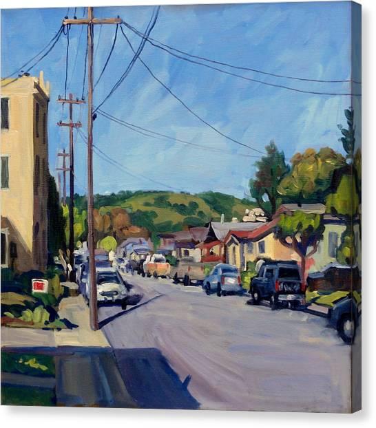 Somewhere In California Canvas Print