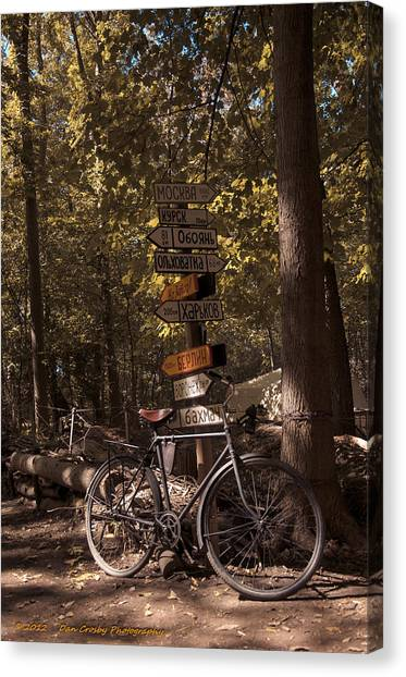Somewhere In Time Canvas Print by Dan Crosby