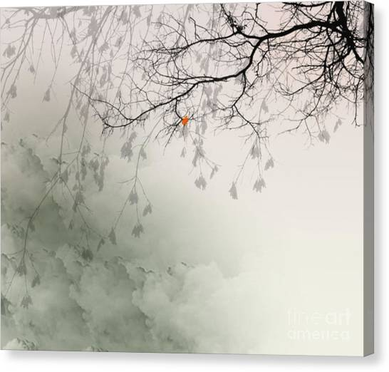 Song Of The Fall Season Canvas Print