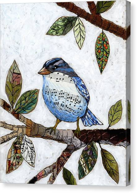 Songbird Canvas Print by Amy Giacomelli