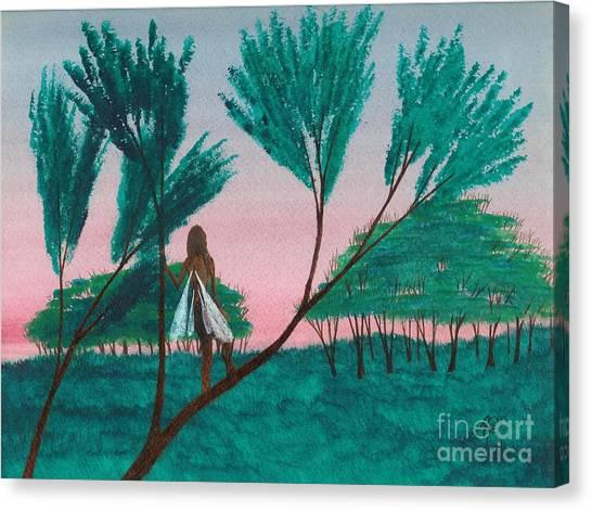 Soon... A Sunrise... Canvas Print by Robert Meszaros