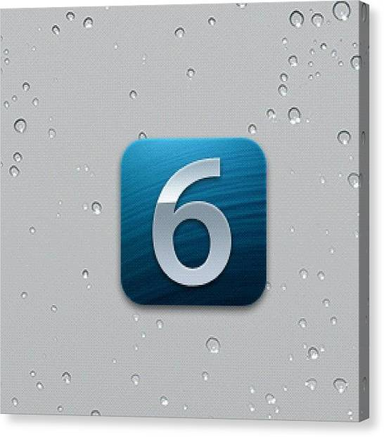 Mac Canvas Print - #soon #os #ios #ithing #iphones #ipads by Andy Brown