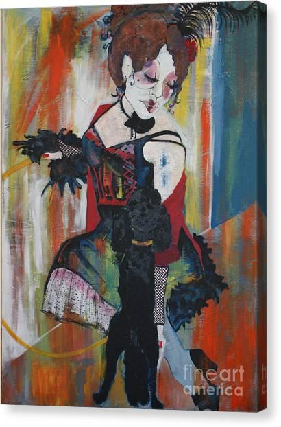 Sopheia And Lu Lu Stage 4 Canvas Print