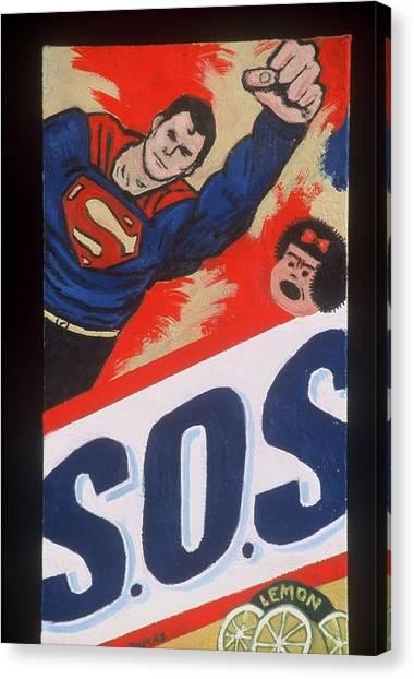 S.o.s. Canvas Print