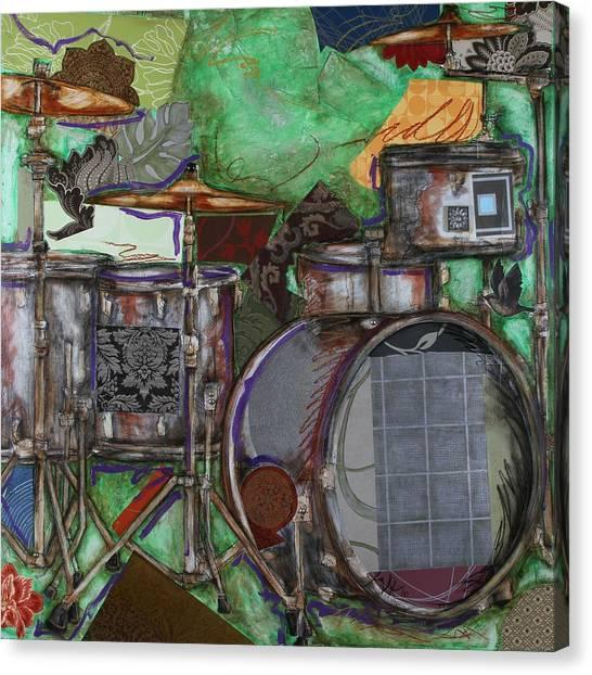 Soul The Drums Canvas Print