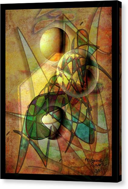 Sound Waves Canvas Print by Monroe Snook