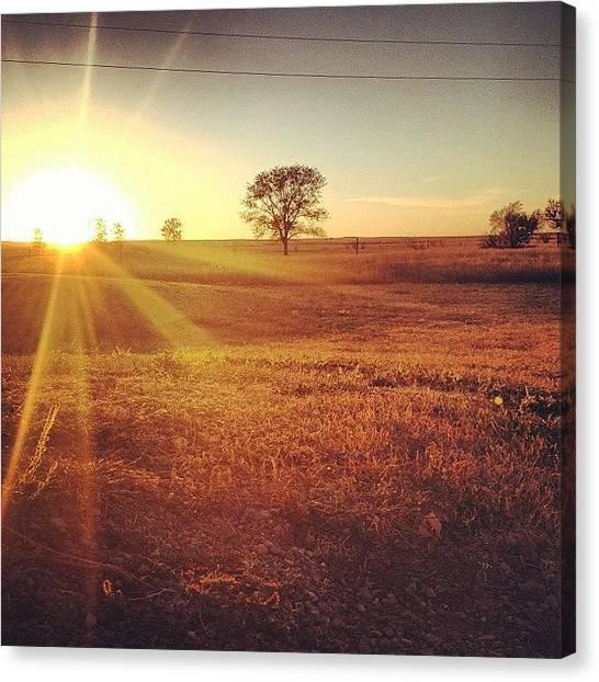 South Dakota Canvas Print - South Dakota Plains by Alex Munsell