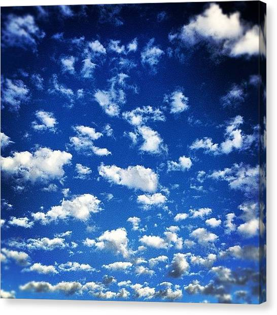 Thanksgiving Canvas Print - South Florida Sky by Seth Tours