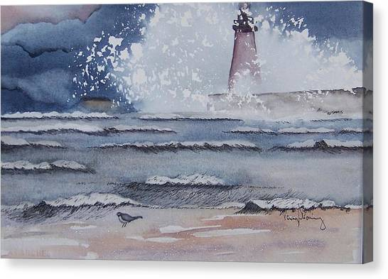 South Haven Lighthouse Canvas Print