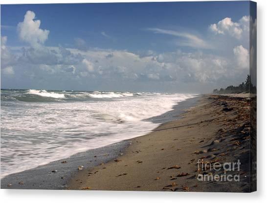 South Hobe Sound Beach Canvas Print by Richard Nickson