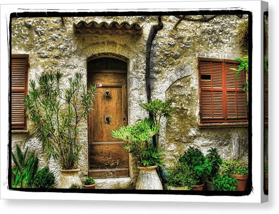 South Of France 1 Canvas Print