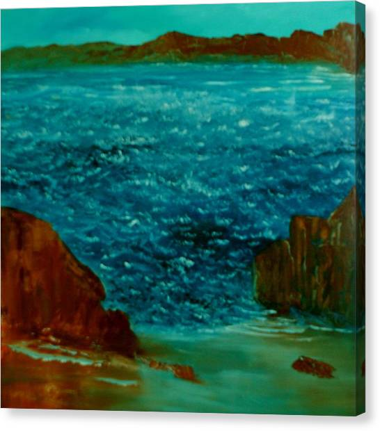 South Sea Canvas Print by David Snider