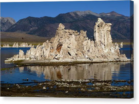 South Tufas And Eastern Sierra Nevada Canvas Print
