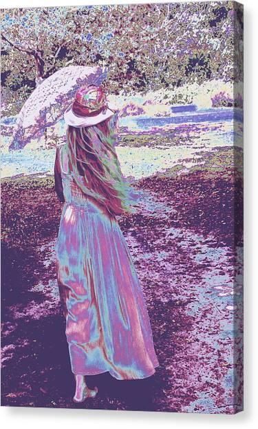 Southern Lady Canvas Print