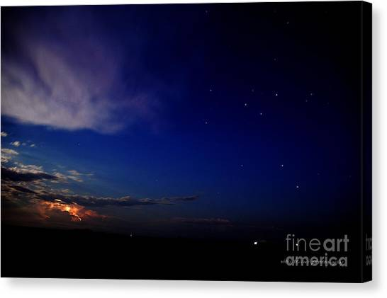 Canvas Print featuring the photograph Southern Ocean Storm by Vicki Ferrari