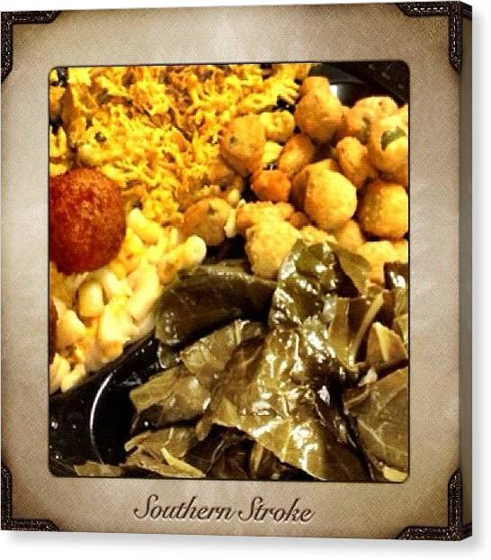 Big Sky Canvas Print - Southern Stroke - Featuring Food From by Photography By Boopero
