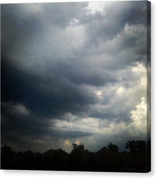 Georgia Canvas Print - Southern Weather by Kenny Kerns