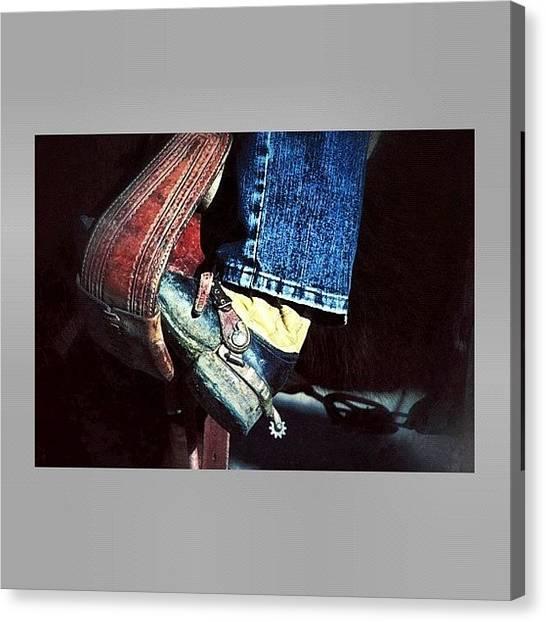 Rodeos Canvas Print - #southwest #statigram #webstagram by Marco Prado