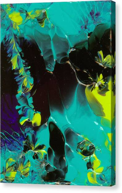 Space Vines Canvas Print by Nan Bilden