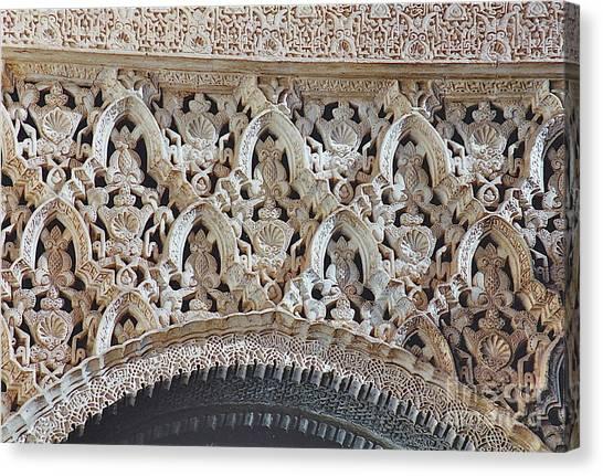 Spanish Intricacy Canvas Print