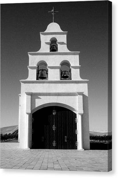 Spanish Mission Front Canvas Print