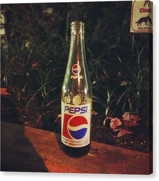 Pepsi Canvas Print - #special #import #mexican #pepsi In by Eric Dick