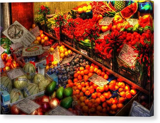Specials Canvas Print by Barry R Jones Jr
