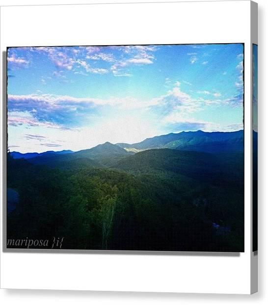 Tennessee Canvas Print - Spectacular Smokies by Mari Posa