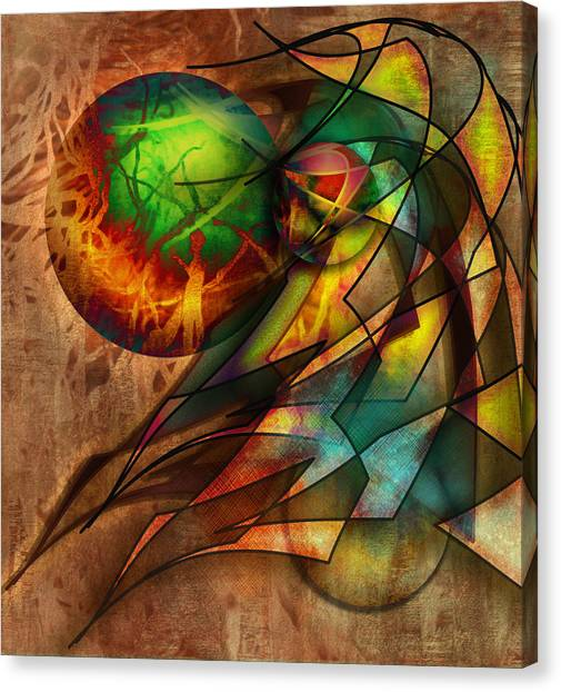 Sphere Of Influence Canvas Print by Monroe Snook