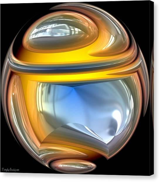 Sphere. Canvas Print by Tautvydas Davainis