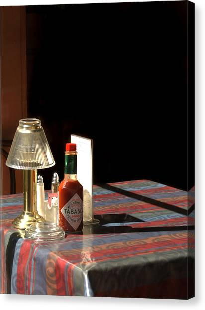 Hot Sauce Canvas Print - Spice Of Life by Greg and Chrystal Mimbs