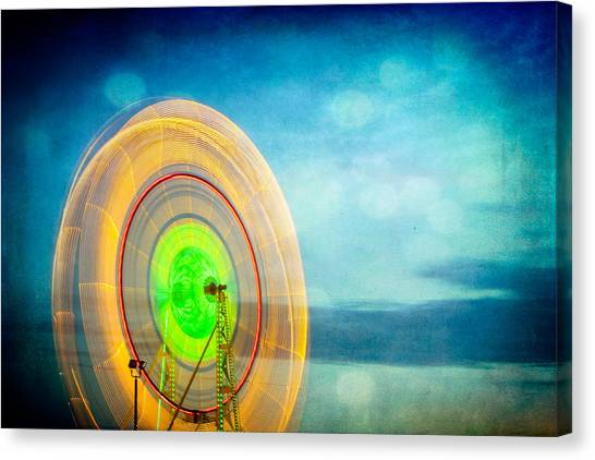 Spinning 2 Canvas Print