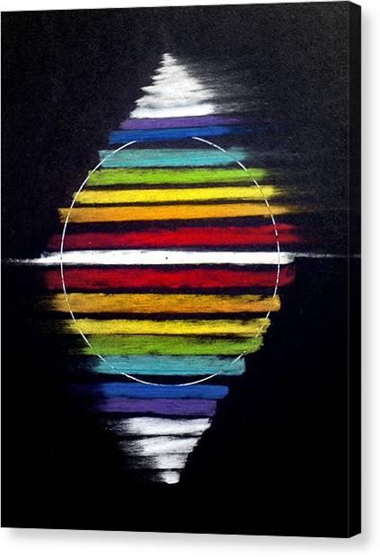 Spinning Merkaba Canvas Print