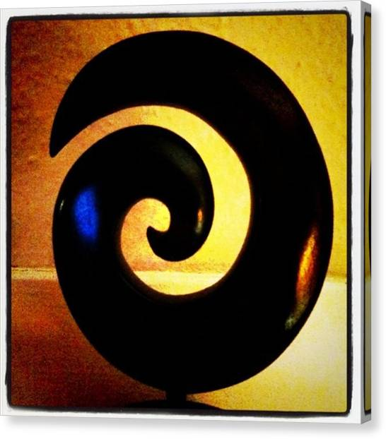 Geometric Canvas Print - Spiral by Ken Powers