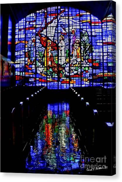 House Of God - Spiritual Awakening Canvas Print