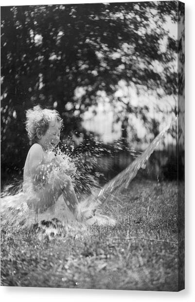 Splish Splash Canvas Print by Norman Smith