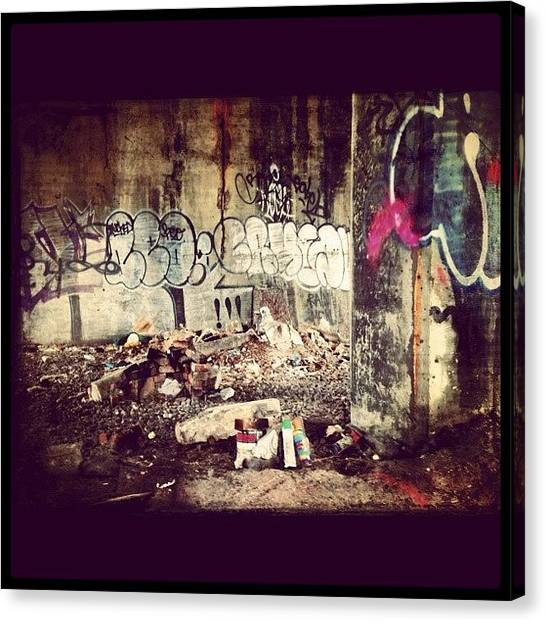 Expression Canvas Print - Spot A Graffiti by Isabel Poulin